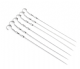 Long Metal BBQ Skewers (Pack of 6)